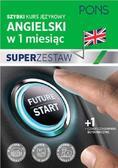 praca zbiorowa - W 1 miesiąc - Angielski Superzestaw PONS