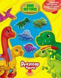 praca zbiorowa - Przyczep figurkę. Dinozaury