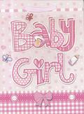 Torebka prezentowa M Baby Girl 1326-04