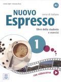 Ziglio Luciana, Rizzo Giovanna - Nuovo Espresso 1 libro dello studente e esercizi + DVD