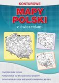 Tomczyk Karol - Konturowe mapy Polski z ćwiczeniami. Powtórka przed maturą