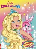 praca zbiorowa - Kolorowanka z naklejkami. Barbie Dreamtopia