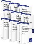 PAKIET: Orzecznictwo Aplikanta 8 zbiorów: KC + KPC + KRO + KK + KPK + KSH + KPA + Prawo administracyjne materialne