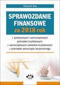 Rup Wojciech - Sprawozdanie finansowe za 2018 rok państwowych i samorządowych jednostek budżetowych - samorządowy