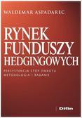 Aspadarec Waldemar - Rynek funduszy hedgingowych. Persystencja stóp zwrotu. Metodologia i badanie