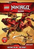praca zbiorowa - Lego Ninjago.Obława cz.1 (Odcinki 85-89) DVD