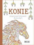 Opracowanie zbiorowe - Kolorowanki antystresowe Konie