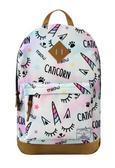 Plecak Caticorn pastelowy
