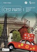 praca zbiorowa - C`est parti! 1 podręcznik wieloletni + CD DRACO