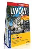 praca zbiorowa - Comfort!map Lwów 1:10 000 plan miasta kieszonkowy