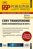 Makowski Mariusz - Ceny transferowe Nowa dokumentacja w 2019 r. Poradnik Gazety Prawnej 3/2019