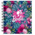 Notes spiralny Barbie w kwiaty