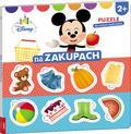 Disney Puzzle dla małych bystrzaków Na zakupach. ELE-9201