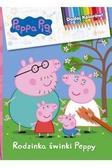Opracowanie zbiorowe - Peppa Pig Dodaj kolorów! Rodzinka Świnki Peppy