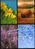 Grzybowski Marian - Kalendarz 2020 z księdzem Twardowskim 4 pory roku