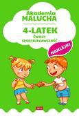 Opracowanie zbiorowe - Akademia malucha 4-latek ćwiczy spostrzegawczość