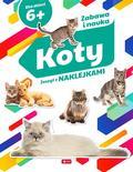 Opracowanie zbiorowe - Koty Zeszyt z naklejkami