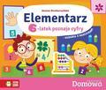 Straburzyńska Joanna - Domowa Akademia Elementarz 6-latek poznaje cyfry