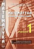 praca zbiorowa - Matematyka SBR 1 Podręcznik POODKOWA