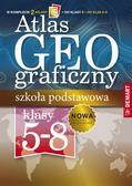 Opracowanie zbiorowe - Atlas geograficzny Szkoła podstawowa 5 -8 klasa