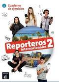 praca zbiorowa - Reporteros Internacional 2 ćwiczenia