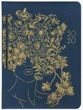Kalendarz tygodniowy DI3 lady złote kwiaty