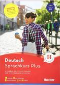 praca zbiorowa - Sprachkurs Plus Deutsch B1 w.angielska HUEBER