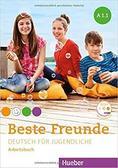 praca zbiorowa - Beste Freunde A1.1 AB + CD w.niemiecka HUEBER