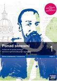 Nowe Język polski Ponad słowami Podręcznik klasa 1 część 2 liceum i technikum zakres podstawowy i rozszerzony
