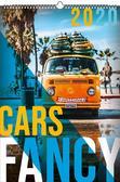 Kalendarz 2020 Wieloplanszowy Fancy cars