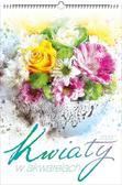 Kalendarz 2020 Wieloplanszowy Kwiaty w akwarelach