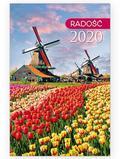 Kalendarz 2020 kieszonkowy Radość: Wiatraki