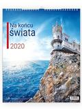 Kalendarz 2020 Ścienny - Na końcu świata