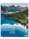 Kalendarz 2020 Ścienny - Góry