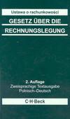 Jungmann Jens, Fil Przemysław (oprac.) - Ustawa o rachunkowości Gesetz uber die Rechnungslegung