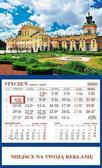 Kalendarz 2020 Ścienny Jednodzielny Wilanów