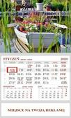 Kalendarz 2020 Ścienny Jednodzielny Łódka