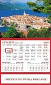 Kalendarz 2020 Ścienny Jednodzielny Korcula