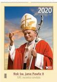 praca zbiorowa - Kalendarz 2020 Rok św. Jana Pawła II