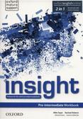 Mike Sayer, Rachael Roberts, Danuta Gryca, Joanna - Insight Pre-Intermediate WB PL w.2019 OXFORD