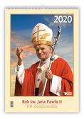 Kalendarz 2020 Rok św. Jana Pawła II i 100 rocznica Urodzin św. Jana Pawła II