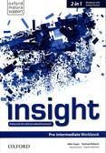Insight Pre-Intermediate Workbook with Online Practice. Szkoły ponadpodstawowe