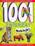 praca zbiorowa - 1001 zwierząt Naklejki
