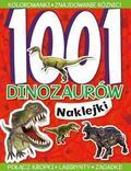 praca zbiorowa - 1001 dinozaurów Naklejki