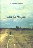 Janusz Kazimierz - List do Rosjan