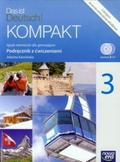 Kamińska Jolanta - Kompakt 3 podr.z ćw.do j.niemieckiego dla SG +2cd NOWA ERTA