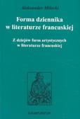 Milecki Aleksander - Forma dziennika w literaturze francuskiej