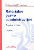 Leoński Zbigniew - Materialne prawo administracyjne