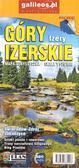 praca zbiorowa - Mapa turystyczna - Góry Izerskie, Izery 1:25 000