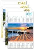 Kalendarz 2020 jednoplanszowy PLB1 MIX